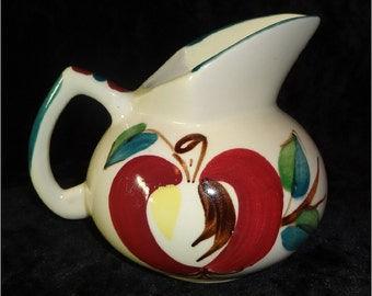 Vintage Purinton Pottery Apple Pitcher