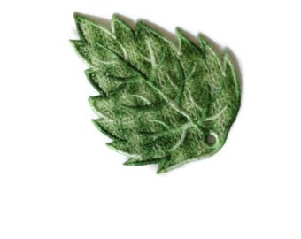 1 Lace leaf, Perfect for Wedding Favors, Bookmark or a Thoughtful gift.