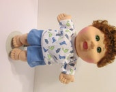 """14"""" Boy Baby Cabbage Patch Short Set"""