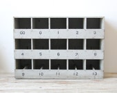 Industrial Storage Cubby Boxes
