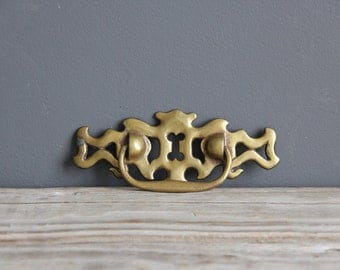 Large Brass Drawer Handle
