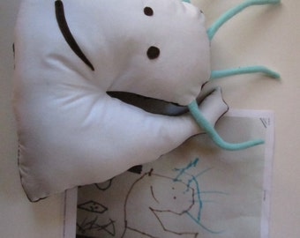 Custom softies, stuffed dolls and animals made from children's drawings - lower price range