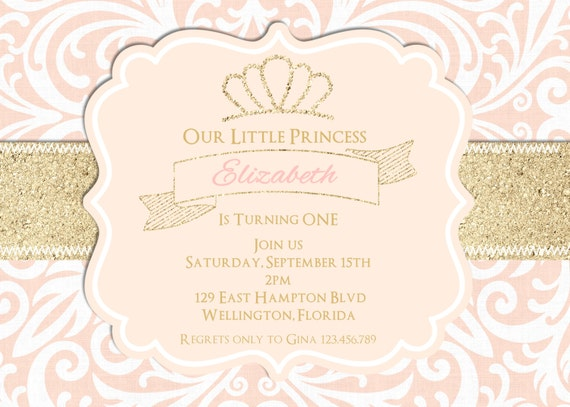 Blush pink and gold glitter birthday party invitation sweet 16 or il570xn filmwisefo