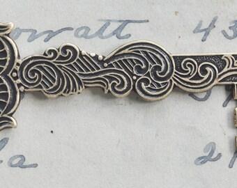 Medieval Key Brass Stamping, Brass Ox