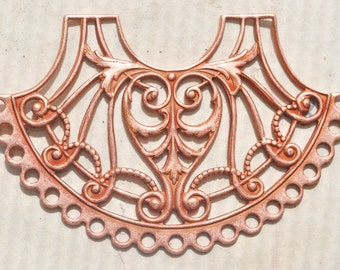 Filigree Brass Beading Form, Rose Ox