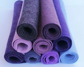 Purples-Felt Blend Color Bundle-9 Color Pack