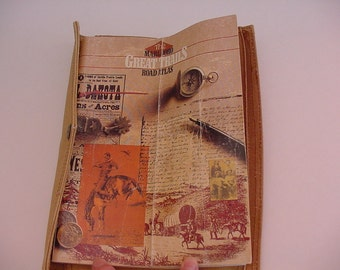 "Historical Road Atlas 101 Pages ""Marlboro Great Trails Map"" in Canvas Pouch Advertising Souvenir Book Paper Ephemera"