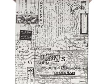Tim Holtz Idea-ology POSTALE Tissue Wrap Paper