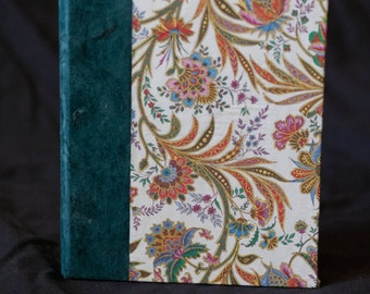 Florentine Paper Journal with Stormy Blue Accents