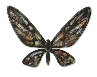 Tim Holtz Alterations Bigz Die FANCIFUL FLIGHT 656635  butterfly, embellishment, tag