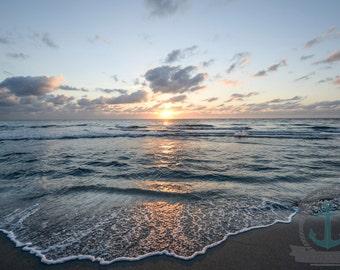 Sunrise in Bocaaton Florida Seascape