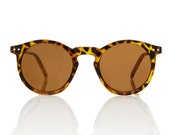 OMalley Round Tortoise Glasses - Brown Lens X American Deadstock