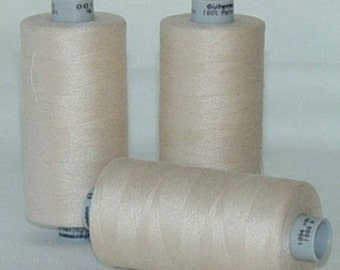 GUTERMANN Mara 100 Polyester Thread ONE (1) Spool 1,094yd Jasper 169 CREAM