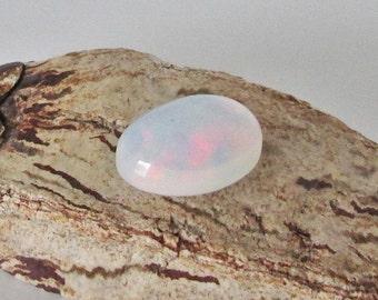 Ethiopian Hydrophane Precious Opal Cabochon   7.35cts