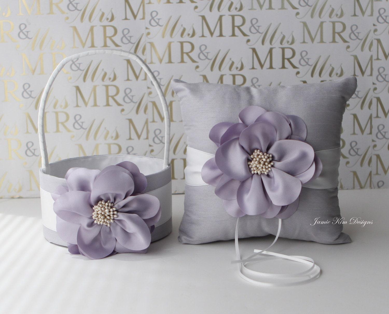 Ring Bearer Pillow & Flower Girl Basket Custom Made To