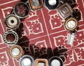 Antique Cufflink Bracelet