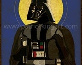 Star Wars - Imperial Saints - Lord Vader Art Print