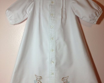 Infant Baby Daygown 7 - 16 lbs.