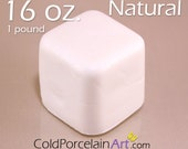 Cold Porcelain Clay 16oz. - Natural - Cold Porcelain Art