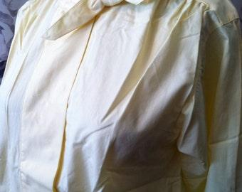 1980 retro cotton blouse  size 8