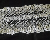 Vintage European Lace Table Doiley Lace for Sewing Project #6
