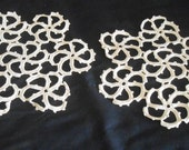 Sewing Supply European Crochet Lace Pinwheel Design Lace Altered Clothing Lace #3