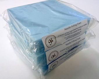 Needle Felting Foam Square - 7 inch - Craft Work Surface Tool - Blue