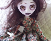 OOAK Lizzie Borden Art Doll