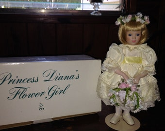 Danbury Mint Princess Diana's Flower Girl with Box