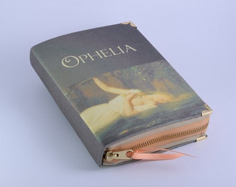 William Shakespeare Ophelia Book Clutch