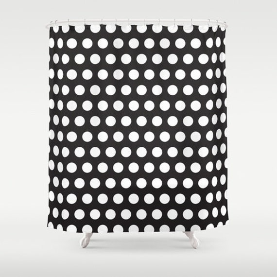 Black And White Plaid Curtains Black and White Polka Dot Pu