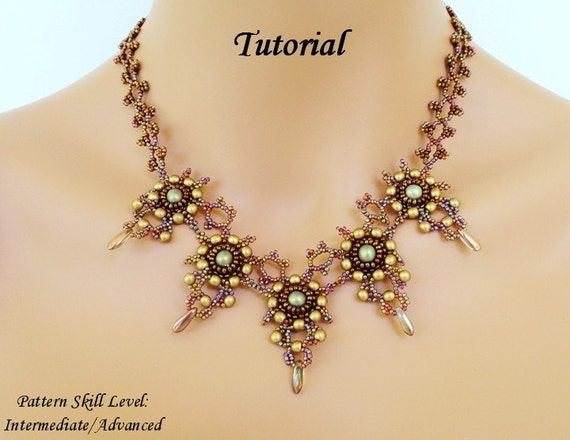 free beaded jewelry patterns instructions