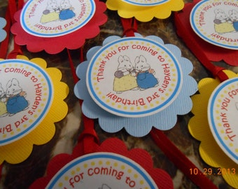 Max and Ruby Favor Tags-Max and Ruby Thank You Tags-Max and Ruby Birthday-Max and Ruby Party-Max and Ruby Party Favor Tags