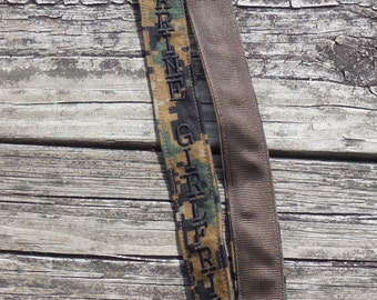 US Marine Girlfriend Lanyard Woodland Camo Military Embroidered Lanyard US Marine Armed Forces Lanyard