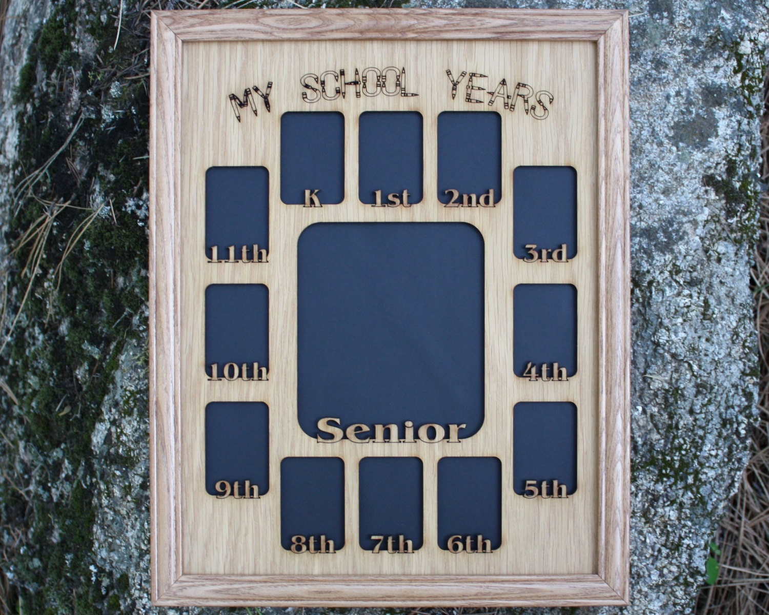 Amazing School Years Picture Frame Personalized Pictures - Frame ...