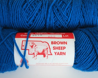 2 skeins Brown sheep yarn color 310