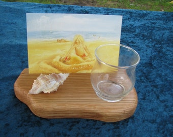Waldorf Home Postcard Display with Tealight Cup