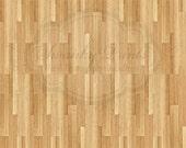 7ft x 7ft Vinyl Photography Backdrop / Light Wood Floor / Custom Photo Prop