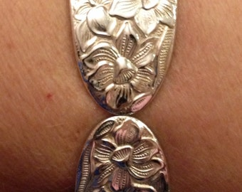 Narcissus 1935 Silverware Bracelet
