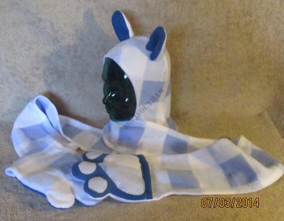 Blue Plaid Bunny