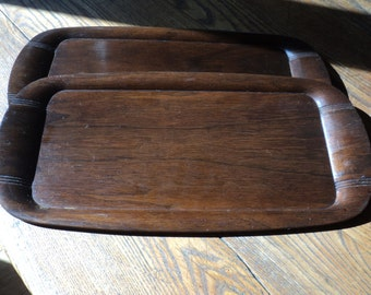 2 Vintage Toastmaster  Hospitality Trays, A  McGraw Electric Company Product, Great for Charcuterie and Cheese trays with Mid Century Style