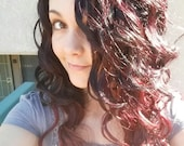 Rich Romance/ Long Brown Curly Ombre Fashion wig