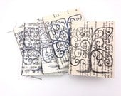Small Box Tree Jotter - Hand printed jotters