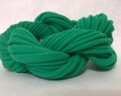 HANDMADE T-shirt Yarn Loops - make a jersey scarf, necklace, bracelets or whatever your heart desires! DIY Supply Green 101548