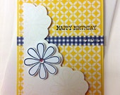 Card - Birthday - Yellow Daisy