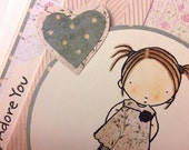 Card - Any Occasion - Simply Adore You
