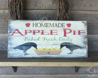 primitive sign, hand painted sign, kitchen decor, rustic sign, primitive sign, country sign, primitive kitchen sign, country kitchen decor