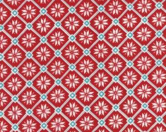 Christmas, Be Jolly by Moda, Snowflake Fabric, Christmas Fabric, 05153