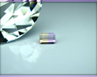 Rectangle Shaped Natural Ametrine Loose Gemstone