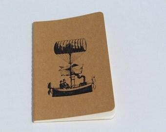 Mini Steampunk Flying Machine Journal